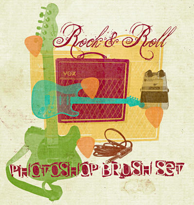 Download free Rock & Roll - Free Photosho brush stock