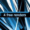 4 Free C4D Renders by Spartan135