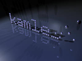 kamlesh in falling pixels by kamlesh