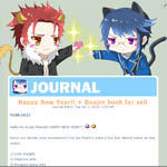 Journal Skin: Kawaii Kings by rairy