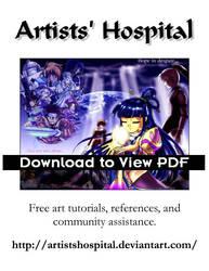 Artists Hospital Flyer Color by ArtistsHospital