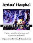 Artists Hospital Flyer Color by ArtistsHospital