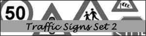 Traffic Signs Set 2