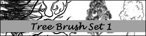 Tree Brush Set 1 by Duckie16