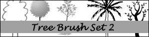 Tree Brush Set 2 by Duckie16