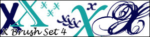 X Brush Set 4