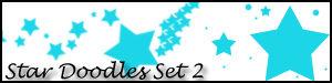 Star Doodles Set 2