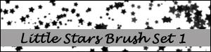 Little Stars Brush Set 1 by Duckie16