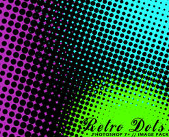 Retro Dots - Photoshop 7+ by Ch4ron
