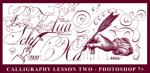 Calligraphy lesson II - PS7+ by Ch4ron