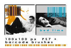 100x100 barcodes PS7+ by Ch4ron