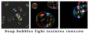 Soap bubbles 100x100 textures