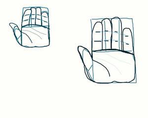 Hand attempt