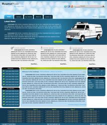 Hospital Joomla Template by designerweb