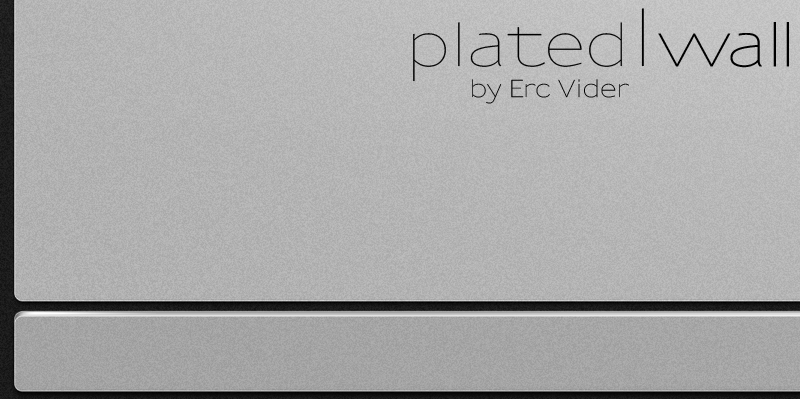 Plated Wall