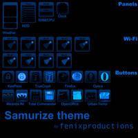 Samurize theme by fenixproductions