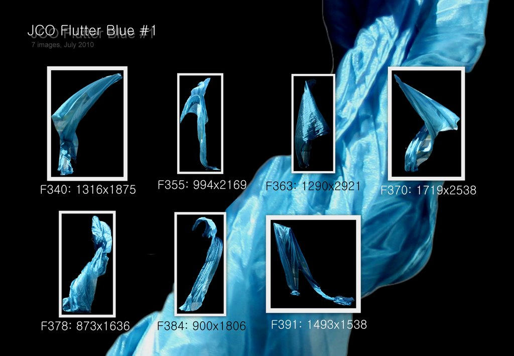 JCO Flutter Pack - Blue 1 by geoectomy-stock