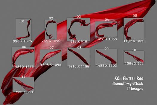 KCI Flutter-Pack Red