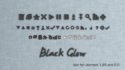 Black Glow for utorrent
