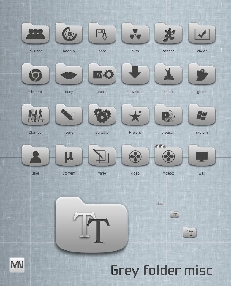 Grey folder mix