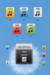 Colorfull Audio Type