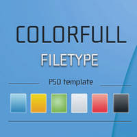 PSD for colorfull filetype