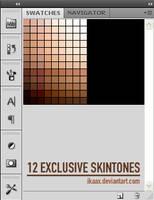 12 Exclusive SkinTones by Ikaax