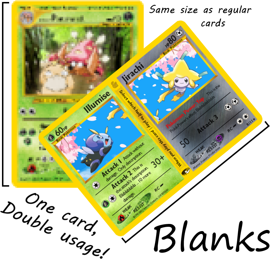 Split Pokemon BLANKS  (Basic)