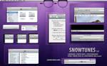 SnowTunes - iTunes OS X theme