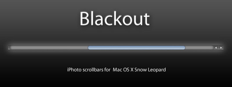 Blackout for Mac OS X by cristomac24