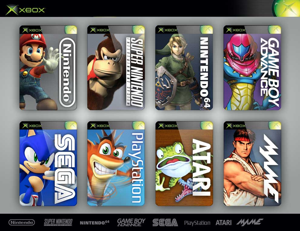 Emulator Box Art - Characters by dRock-designs on DeviantArt