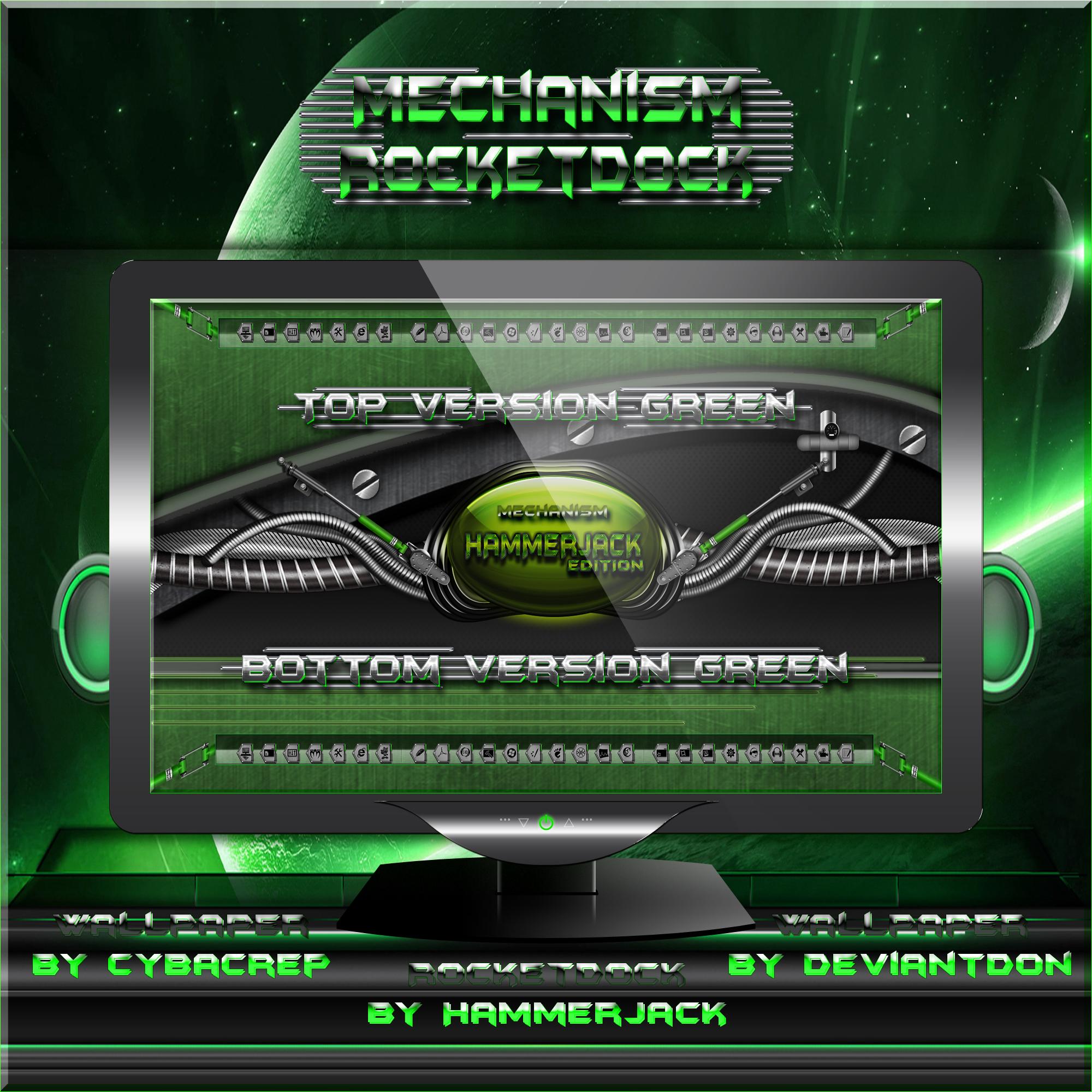 Mechanism Green Rocketdock by mTnHJ