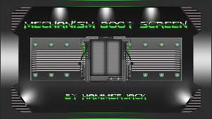 Mechanism Green Boot Screen for Windows 7...