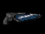 Blue Gunblades by stabbedbyapanda