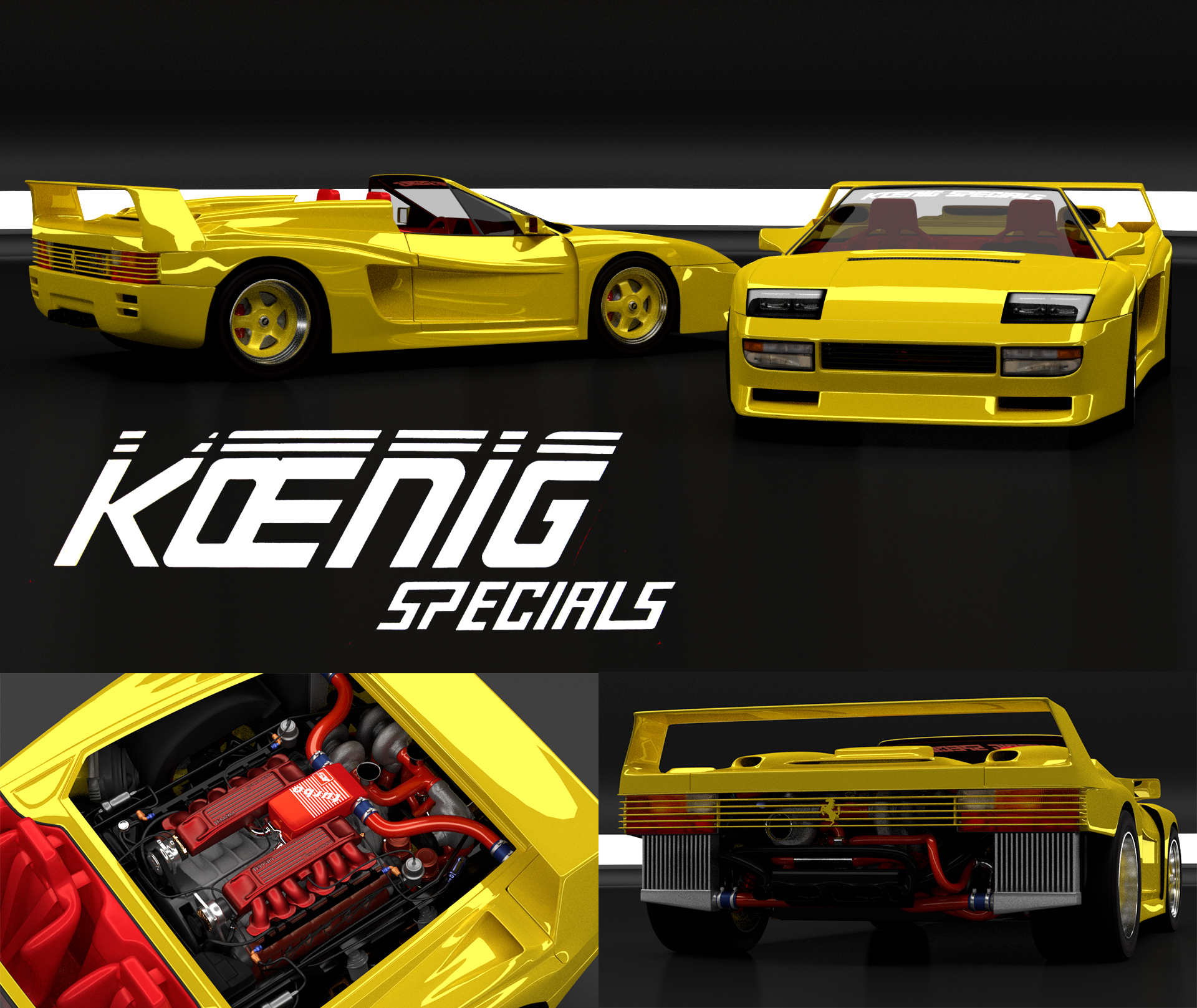 Ferrari Testarossa Koenig Free 3d Model By Jbfree3d On Deviantart