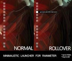 Minimalistic Launcher for Rainmeter by adRiMai
