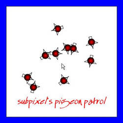 Pigeon Patrol by subpiXel