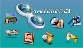 Trilian Pro 3 Pack Icons by Dseo