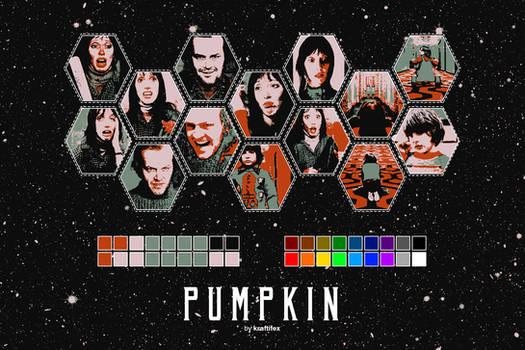 PSD#4: PUMPKIN (w/ polarr code!)