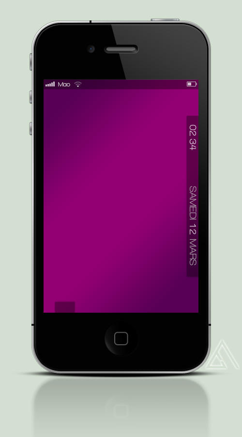 Iphone Purple Screen