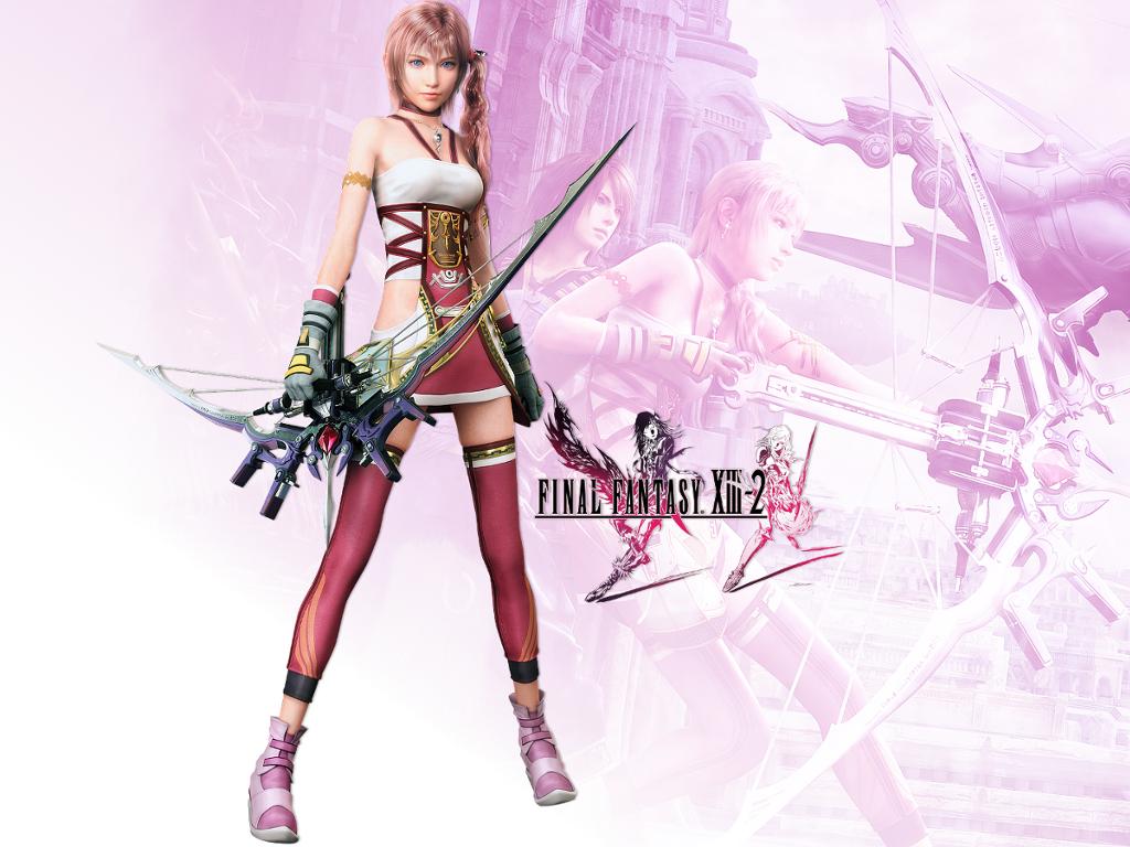 Serah Farron Final Fantasy Xiii 2 Wallpaper Pack By Friedryce On