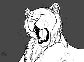 FREE: Tiger LineArt *ReadDescriptionBeforeUse by xxleaftrailxx