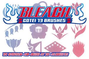 Gotei 13 Brushes by Sabaku-no-Chibi-san
