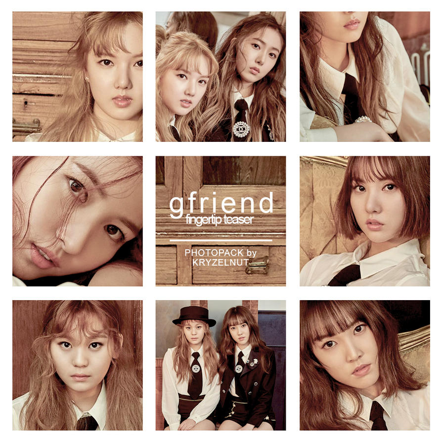 ++ Photo Pack 001 | GFRIEND Fingertip Teaser by kryzelnut