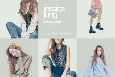++ PNG Pack 002 | Jessica Jung Cosmopolitan Issue