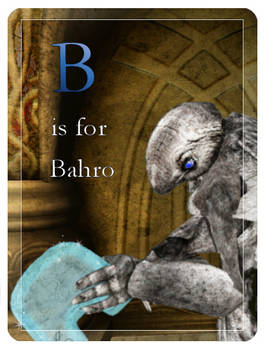E-Derby: B is for Bahro