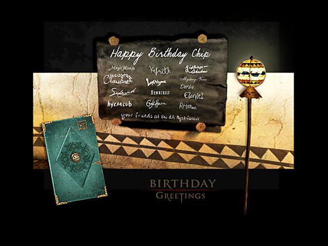 Happy Birthday Chip by Myst-fan-club