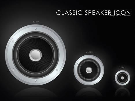 classic speaker icon