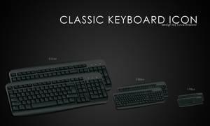classic keyboard icon by bisiobisio
