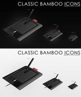 classic bamboo icons by bisiobisio
